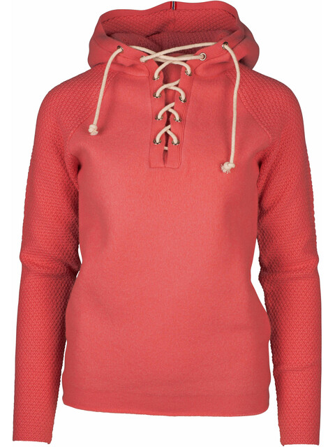 Amundsen Sports W's Boiled Hoodie Laced Weathered Red